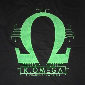 Kenny Omega shirt - Size XL - Color Black